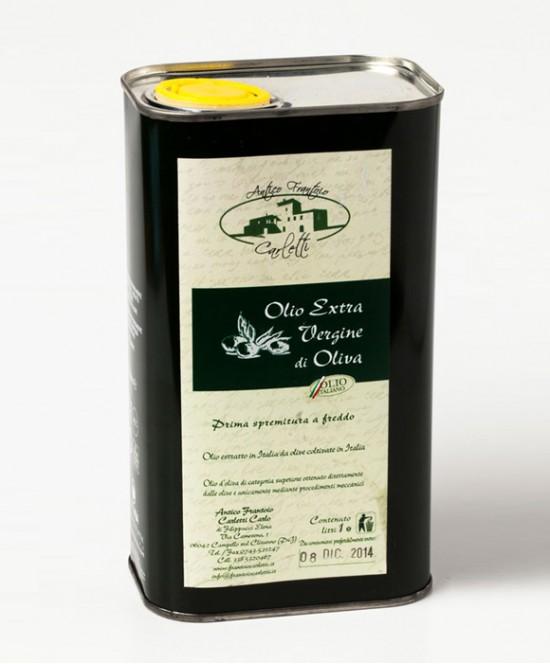 Olio Extravergine di Oliva Carletti L 1 (latta)