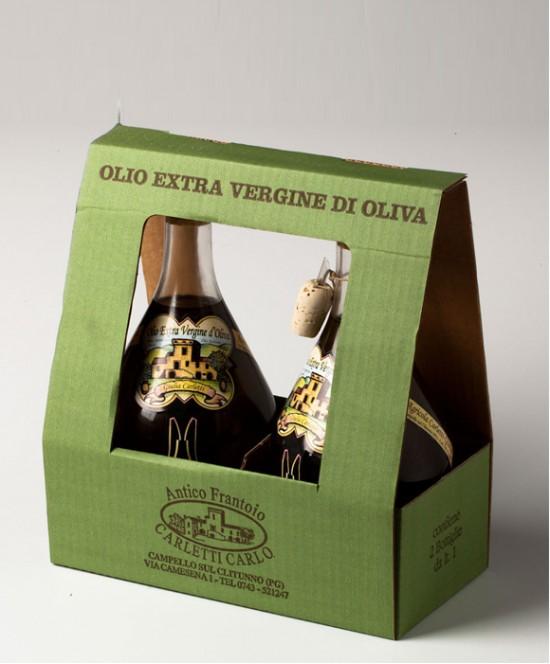 Olio Extravergine di Oliva Carletti L 2 (vetro)