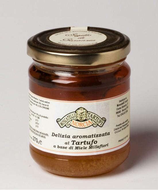 Delizia aromatizzata al Tartufo a base di Miele Millefiori g 40