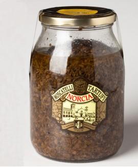 Boscaiola con Tartufi Estivi o Scorzoni (Tuber Aestivum Vitt.) e Funghi Champignon g 900
