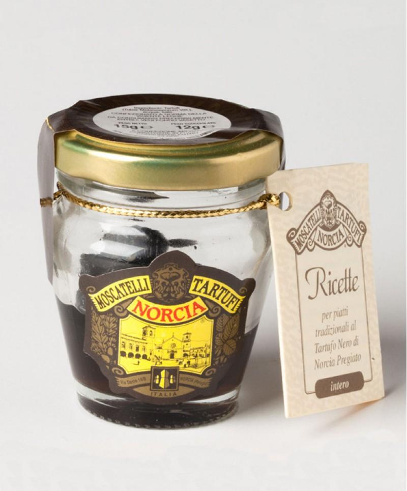 Tartufi Neri Pregiati di Norcia Interi (Tuber Melanosporum Vitt.)  g 15
